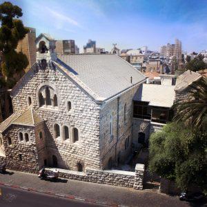 The Alliance Church building in Jerusalem, premises of the Caspari Center