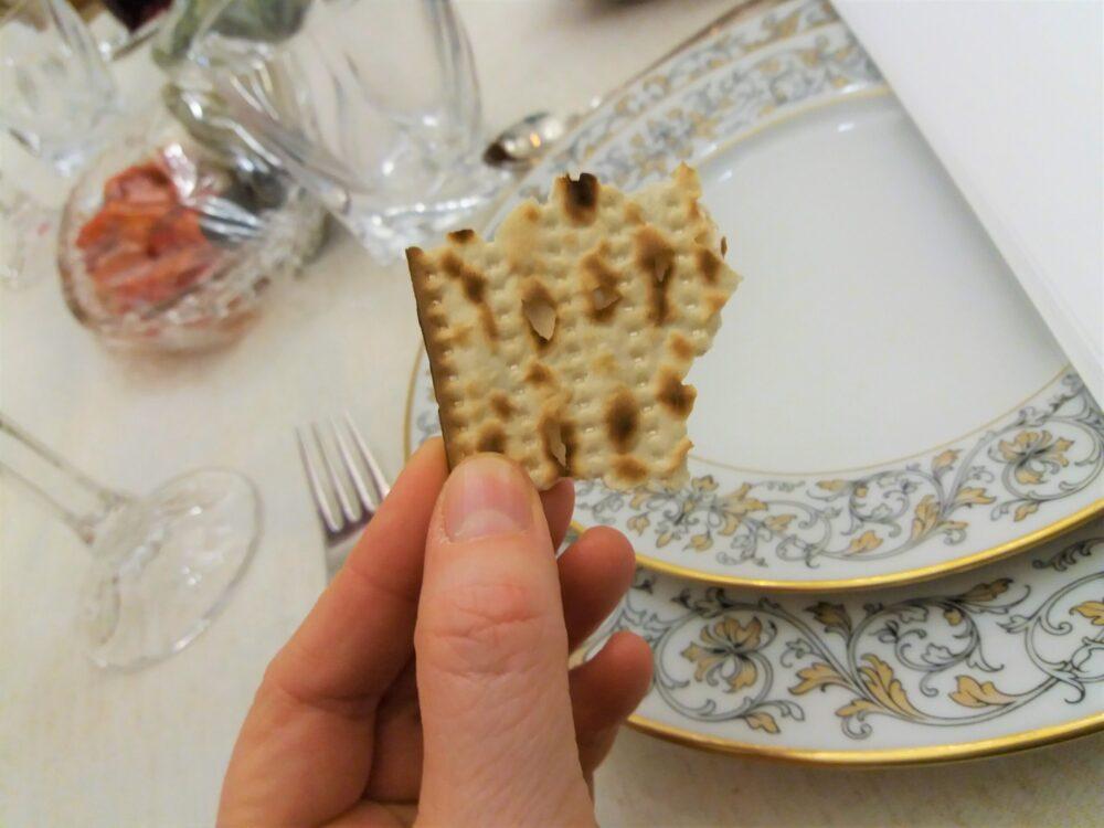 Seder bread