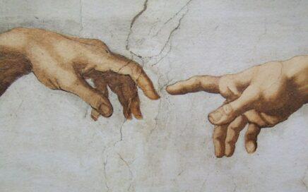 michelangelo hands