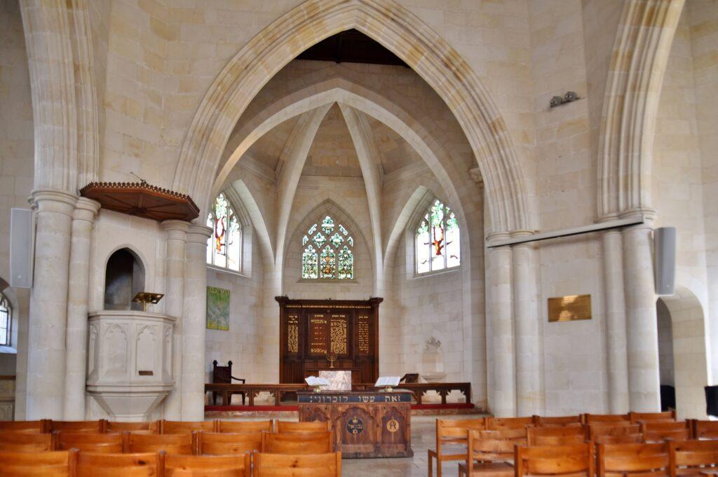Christ Church hall in Jerusalem